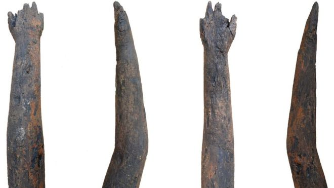"Wooden ""arm"" was discovered in Britain"