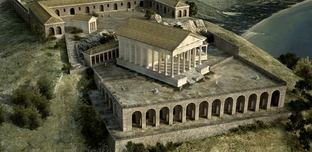 Rekonstrukcja sanktuarium w Terracinie