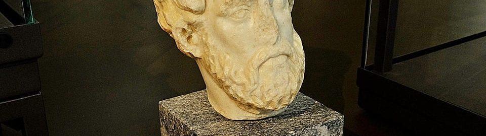 Marcus Aurelius' head in Serbia