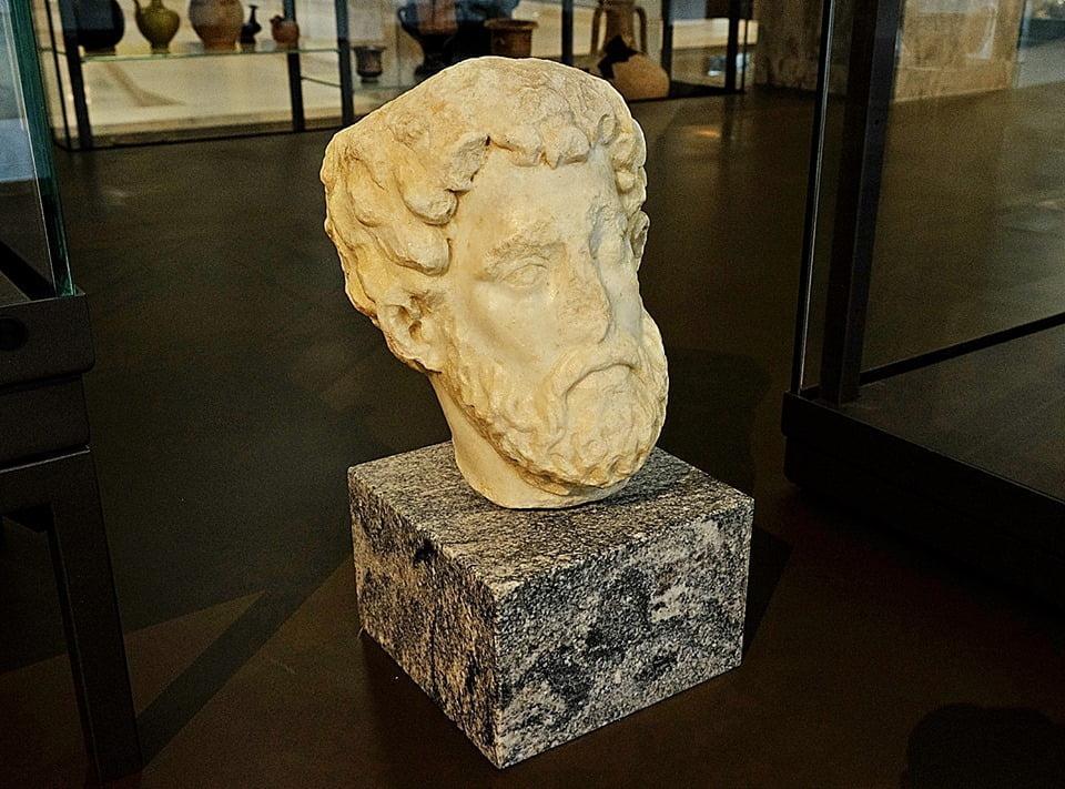 Popiersie Marka Aureliusza w Serbii
