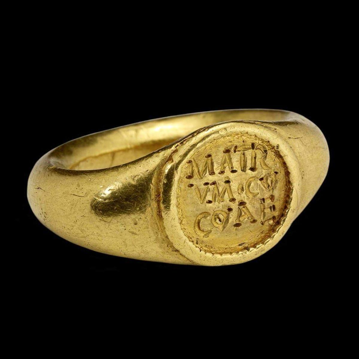 Ciekawy rzymski pierścionek