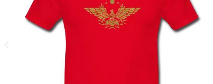 Unikalna koszulka SPQR