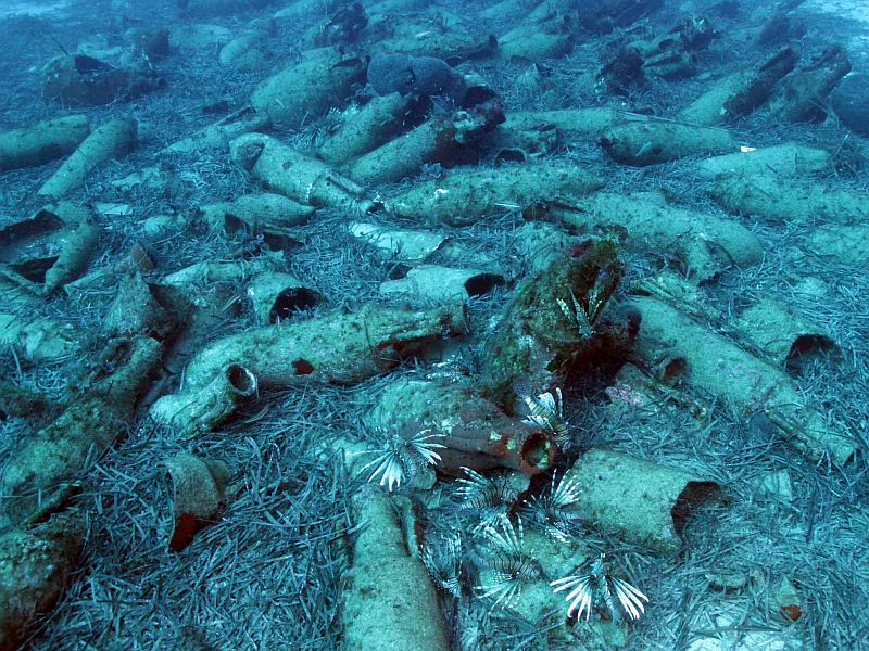 Wreck of Roman ship was discovered next to coast of Cyprus