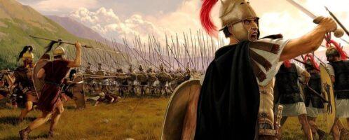 Starcie rzymsko-macedońskie