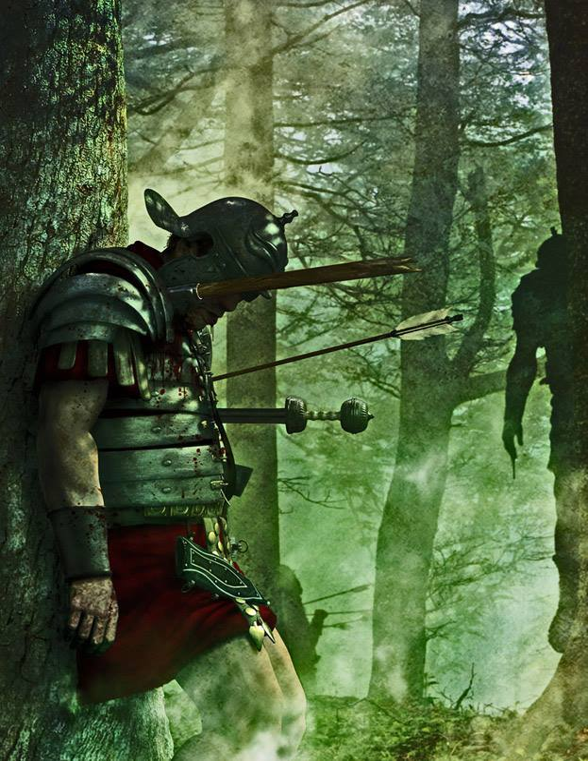 Death of a legionary