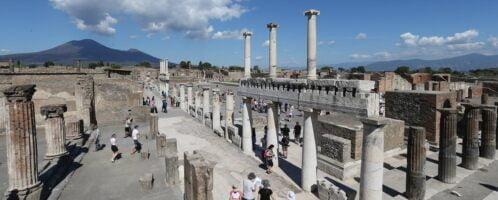 Pompeje | Autor: Marco Cantile/LightRocket via Getty
