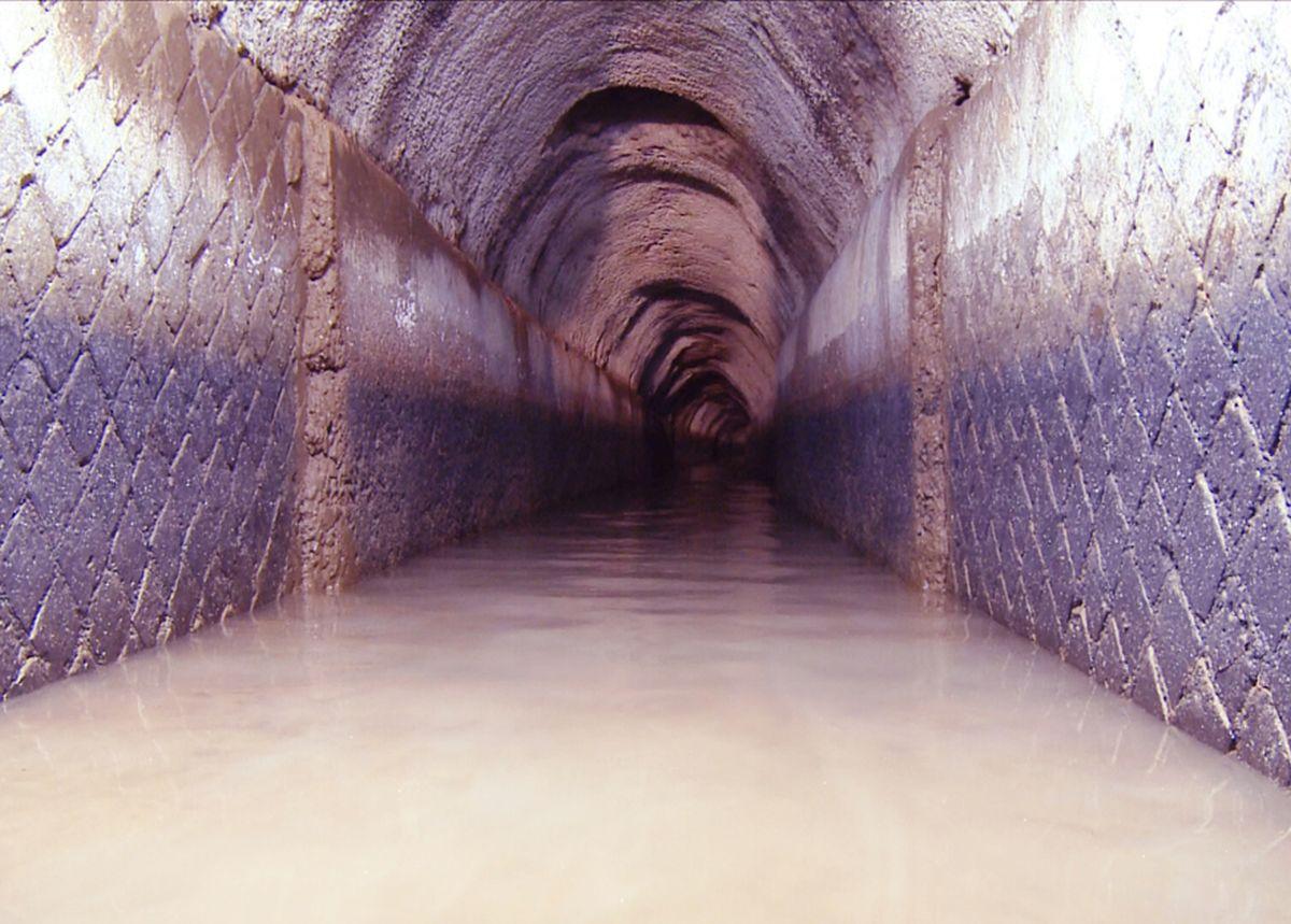 Underground part of Aqua Traiana