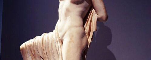 Zdjęcie umierającej córki Niobe z muzeum Palazzo Massimo Alle Terme w Rzymie