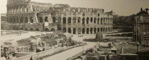 Zdjęcie Koloseum w roku 1904