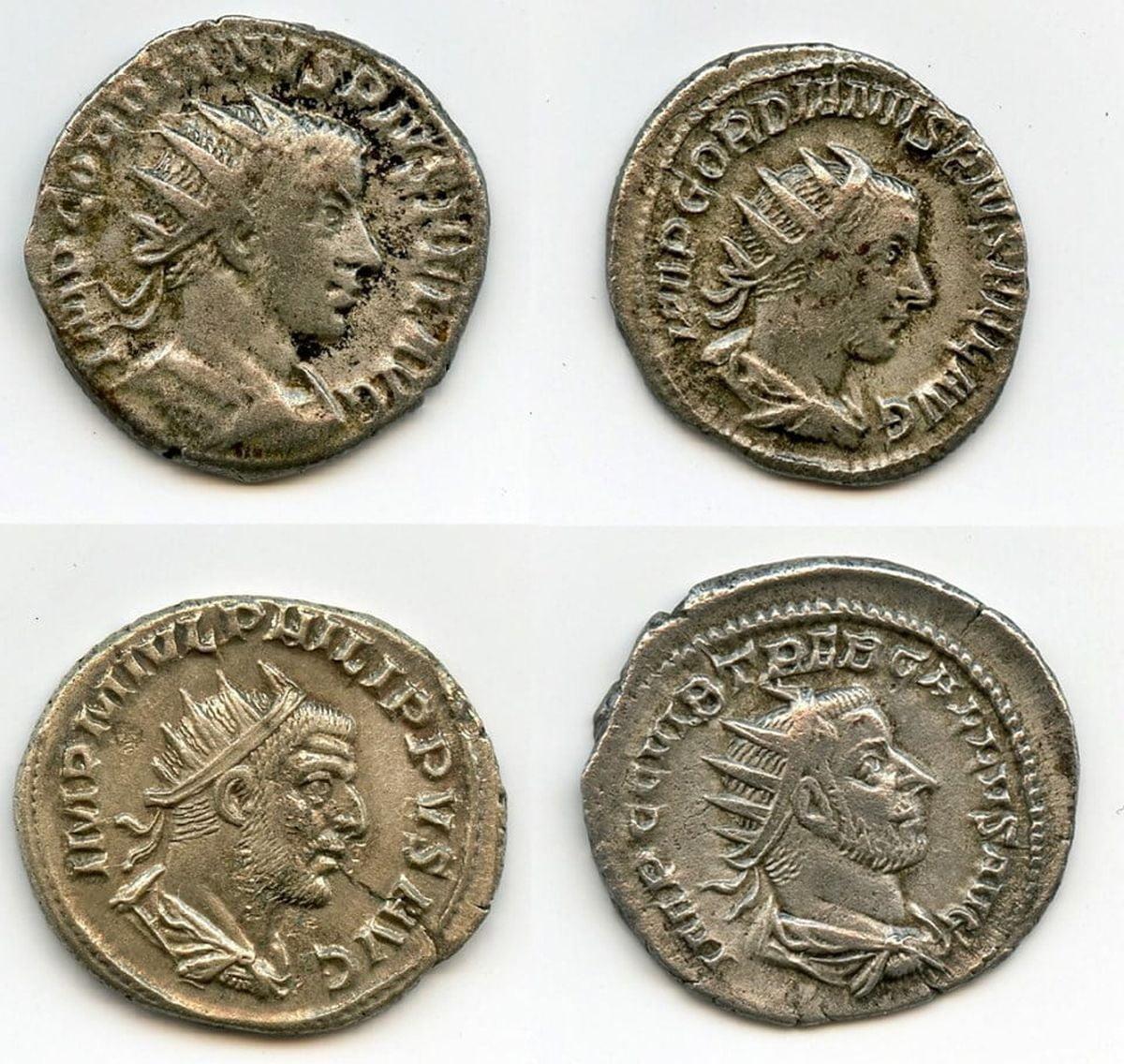 Rzymskie srebrne monety