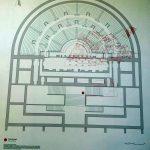Plan of the Roman theater in Lisbon
