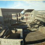 Visualization of the Roman theater in Lisbon