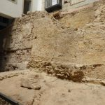 Remains of the Roman theater in Lisbon
