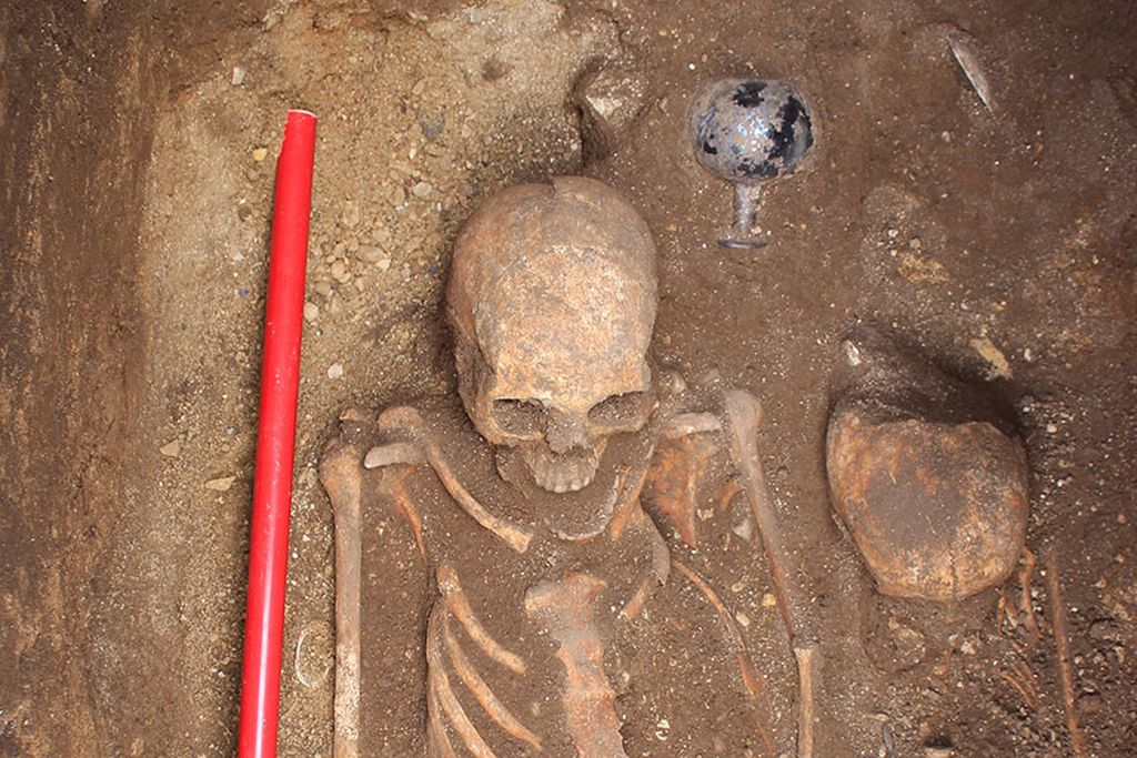 In Serbia, burial from 4th century CE was found
