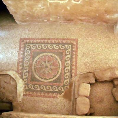 Mozaika w Zachodnim Pałacu