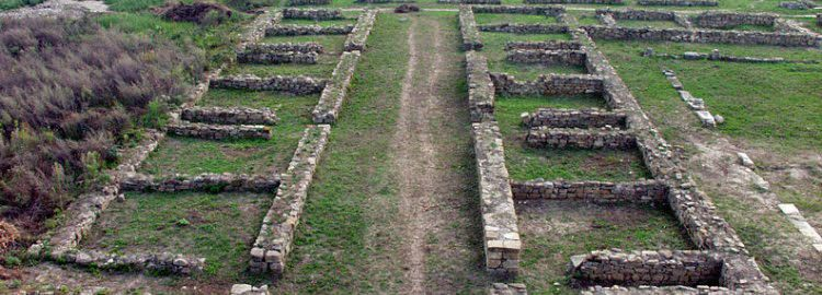 Ruins of the Roman Military Hospital in Novae