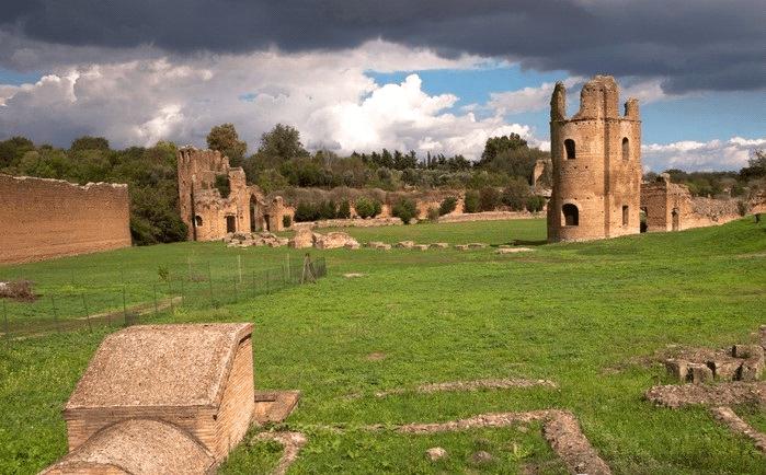 Ruiny Cyrku Maksencjusza