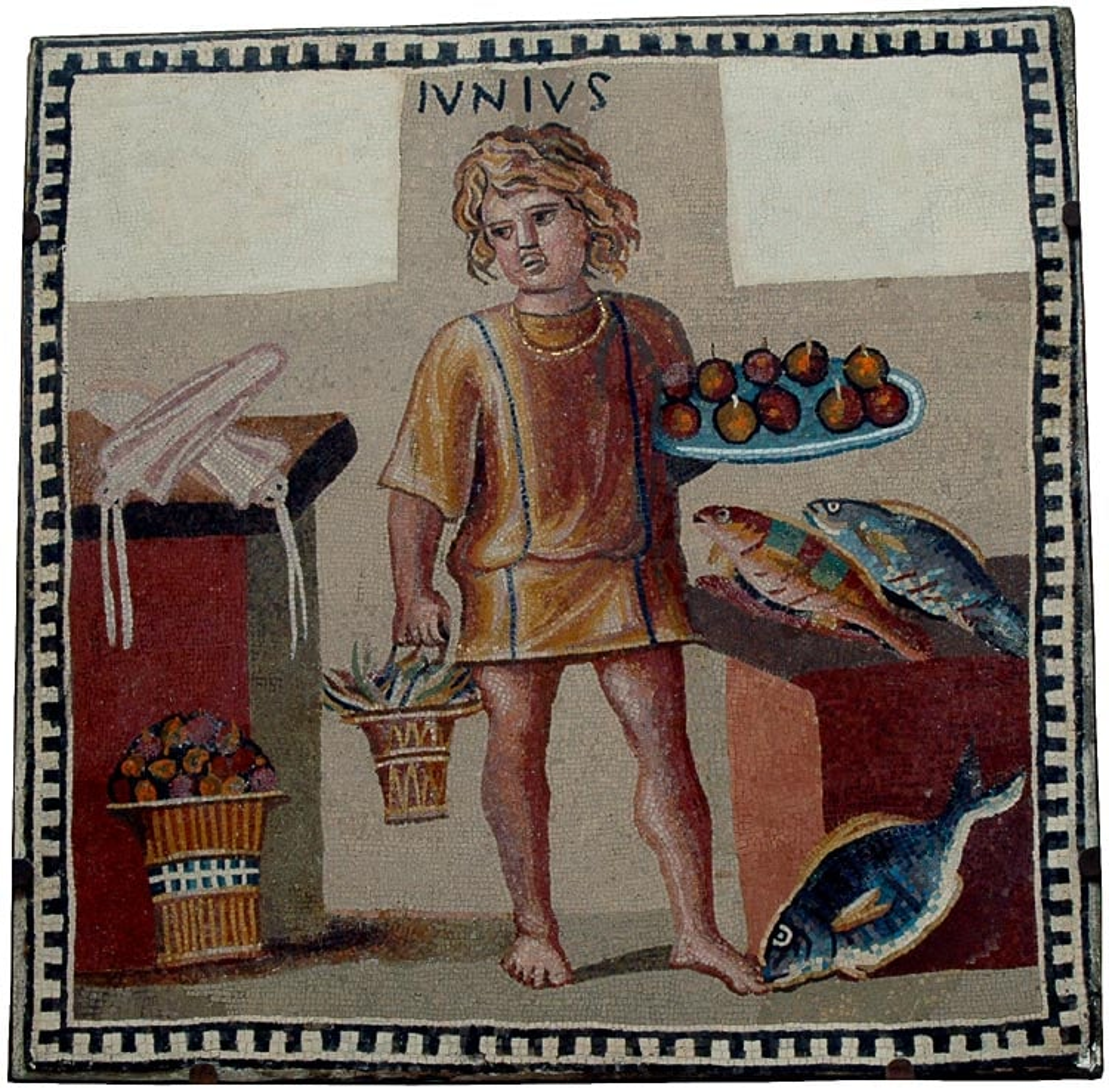 Junius - niewolnik z mozaiki