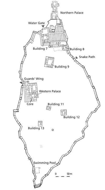 III faza zabudowy Masady