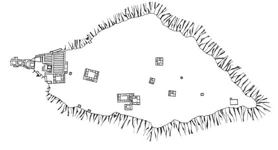 II faza zabudowy Masady