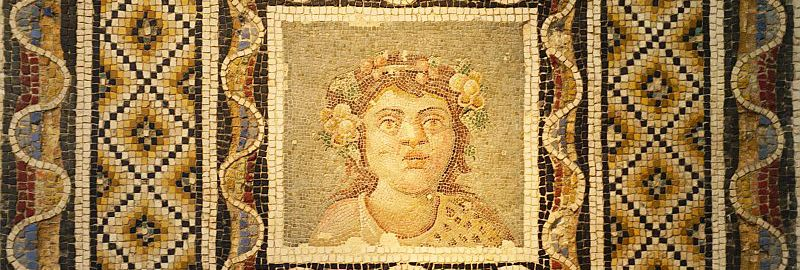 A mosaic of Bacchus