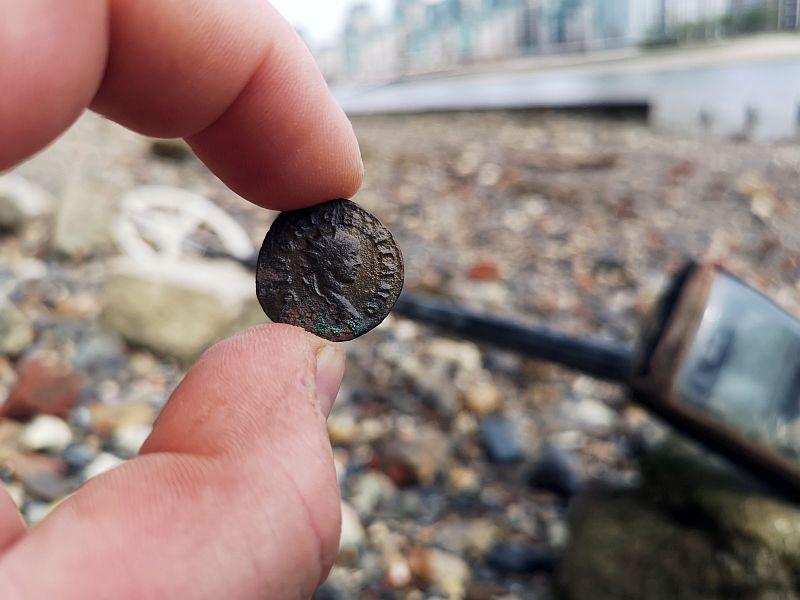 Polish treasure hunter discovered Roman coin of Marcus Aurelius Nigrinianus