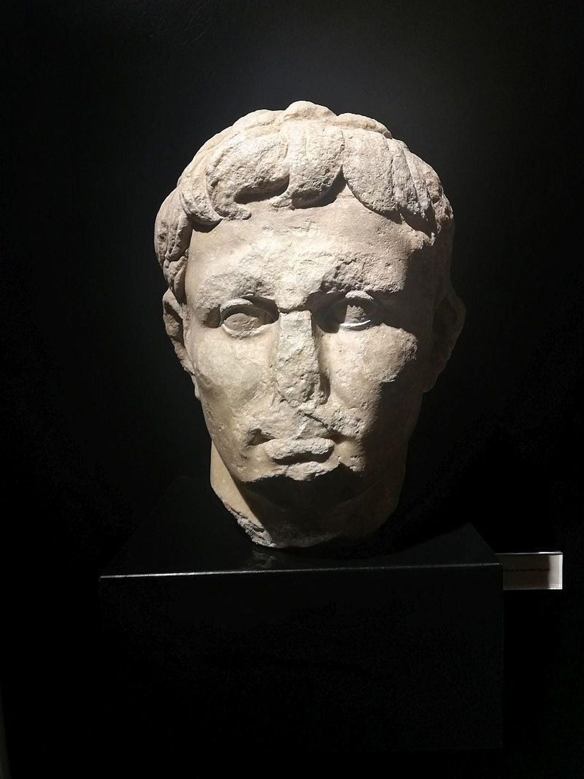 Głowa Oktawiana Augusta znaleziona w Lizbonie
