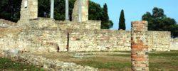 Roman ruins in Miróbriga