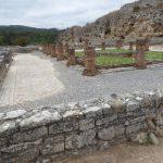 Pozostałości po domach w Conimbriga