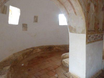 Część gospodarcza willi w Sao Cucufate, która potem została przekształcona w kościółek