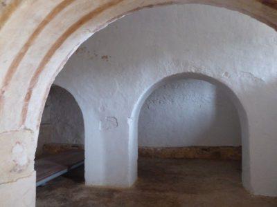 Piwnica lub spichlerz w Sao Cucufate