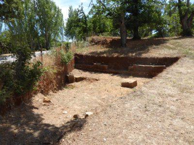Small pool in Ammaia