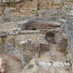 Pozostałości term w Conimbriga