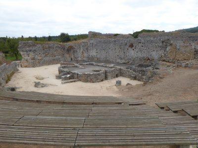 Amfiteatr w Conimbriga
