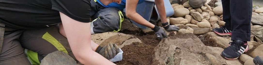 A Roman cauldron was discovered in Norway