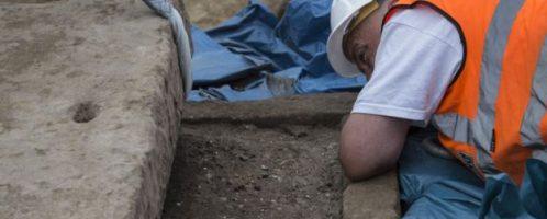 W Londynie w 2017 roku odkryto rzymski sarkofag