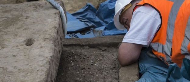 A Roman sarcophagus was discovered in London in 2017