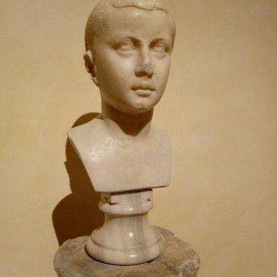 Popiersie młodego Gordiana III w zbiorach Muzeów Kapitolińskich
