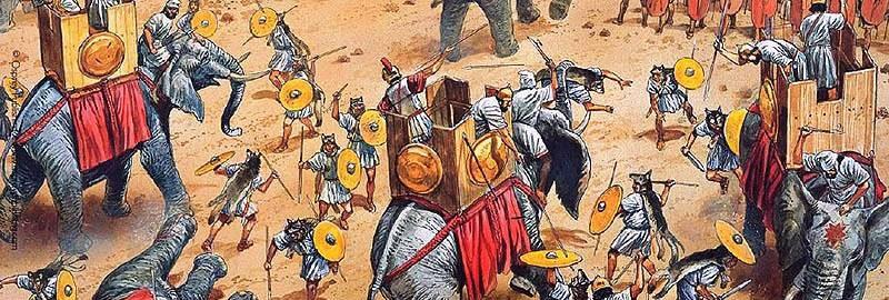 Welici w bitwie pod Zamą