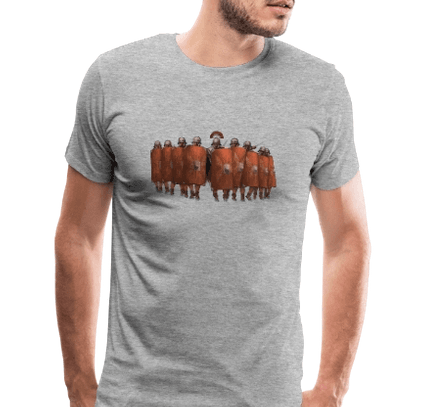 Marching squad of legionnaires - now on T-shirt!