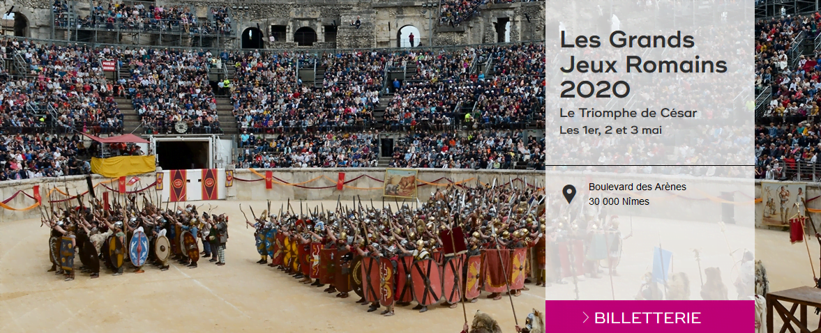 Tickets for next year's Great Roman Games are already on sale