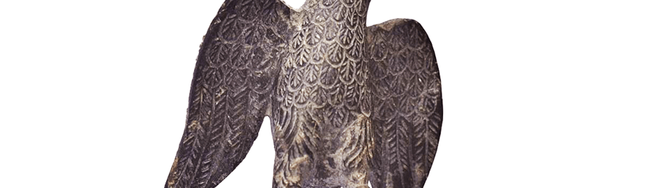 Roman statue of an eagle