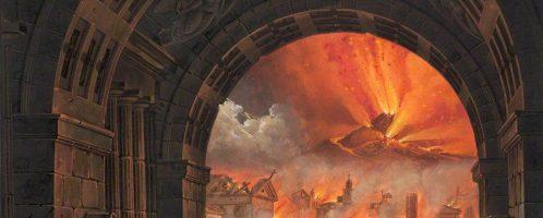 Wizualizacja wybuchu Wezuwiusza, Alessandro Sanquirico