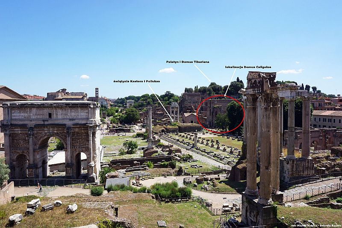 Domus Gai - Caligula's palace in Forum Romanum « IMPERIUM ROMANUM