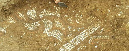 Odkryto mozaikę rzymską na południu Anglii