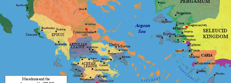 Greek world before the outbreak of the Second Macedonian War (2nd century  BCE)