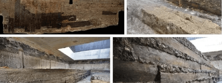 Researchers found out where the wood used to build a Roman villa came  from