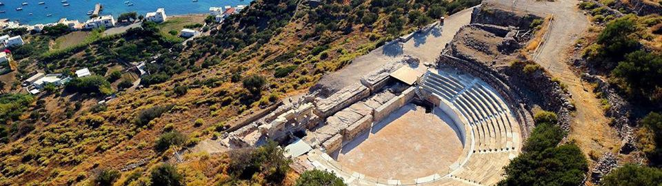 Roman theater on the island of Melos