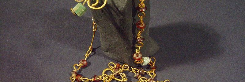 A beautiful ancient necklace