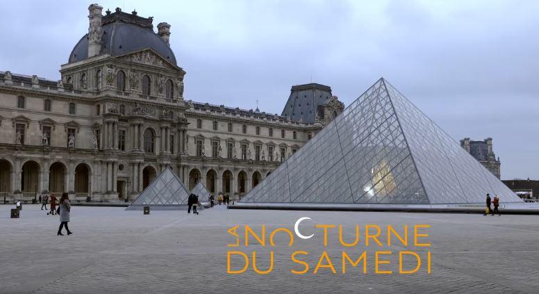 """""""Nocturnes du Samedi"""" in Louvre"""